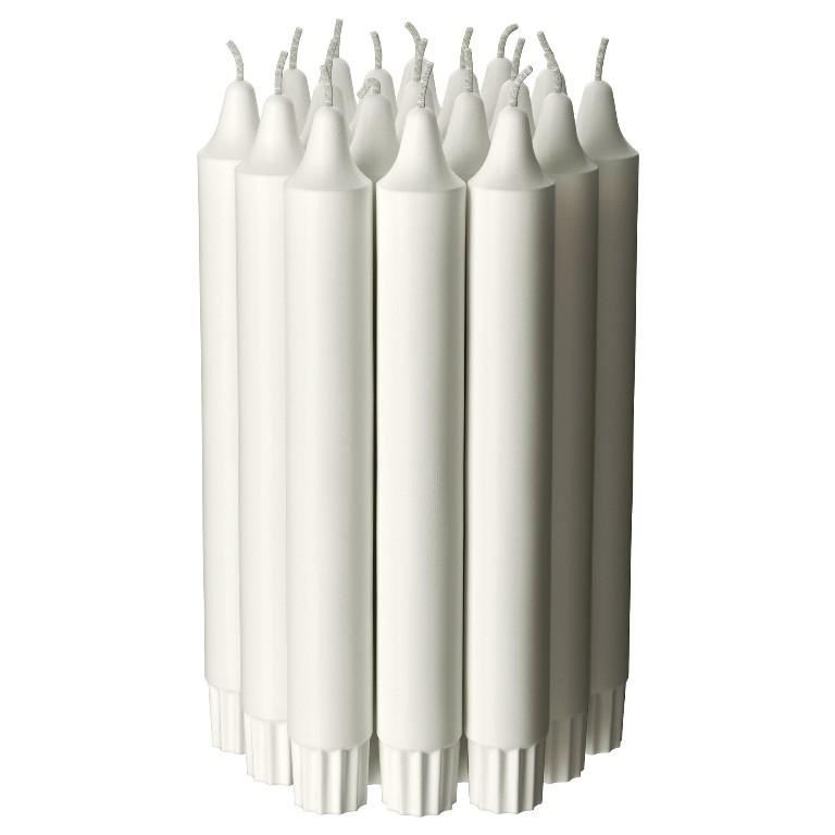 IKEA White Candles