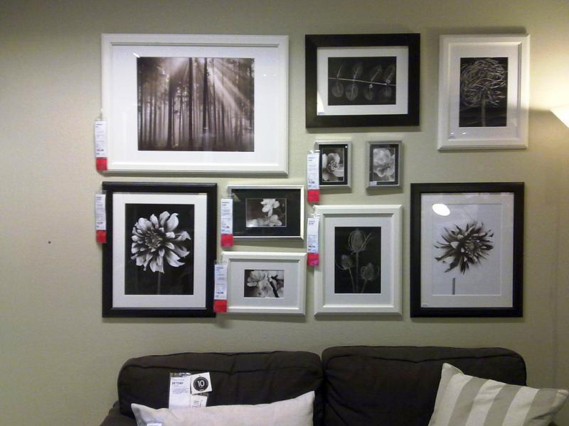 Large Multi IKEA Photo Frames