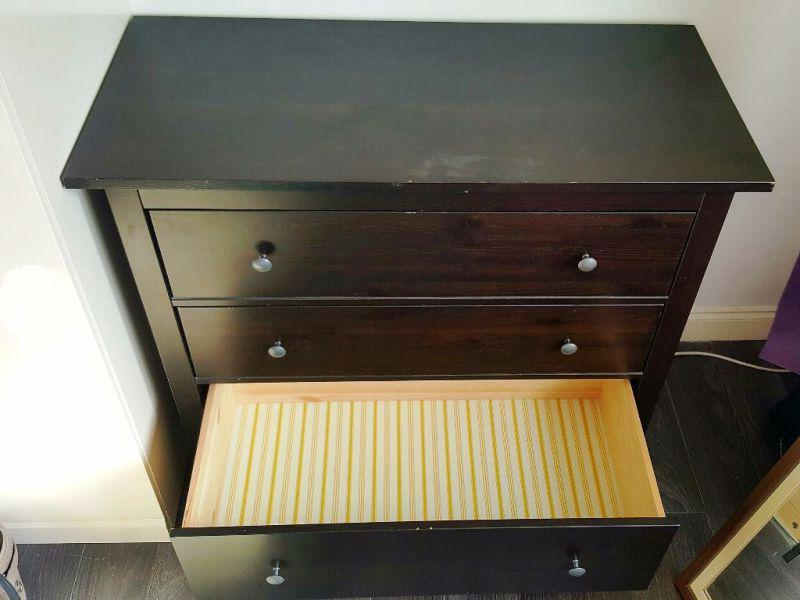 Image of: Mammut 3 Drawer Chest