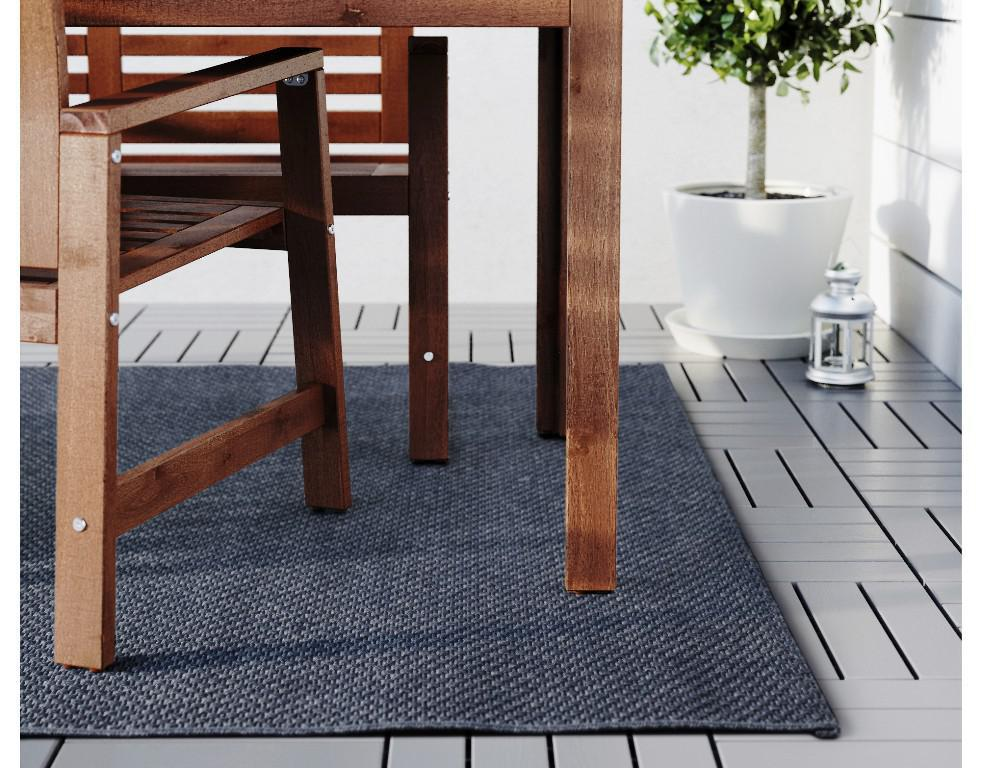 Outdoor Rugs IKEA Under Tables