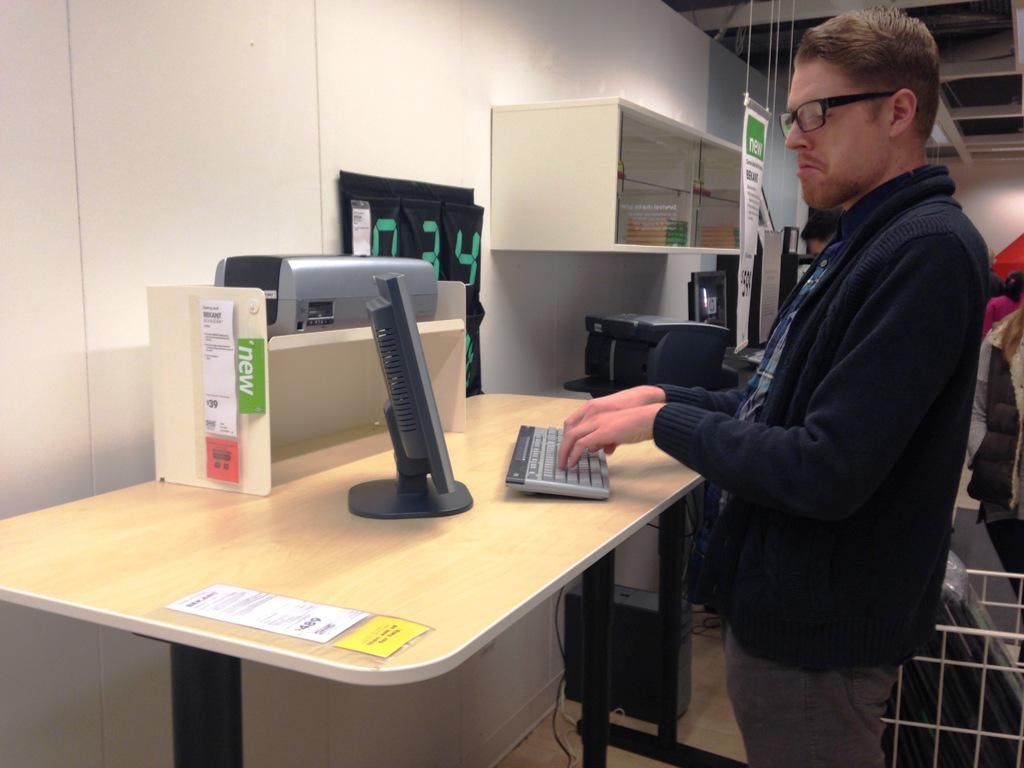 Stand Up Desks IKEA