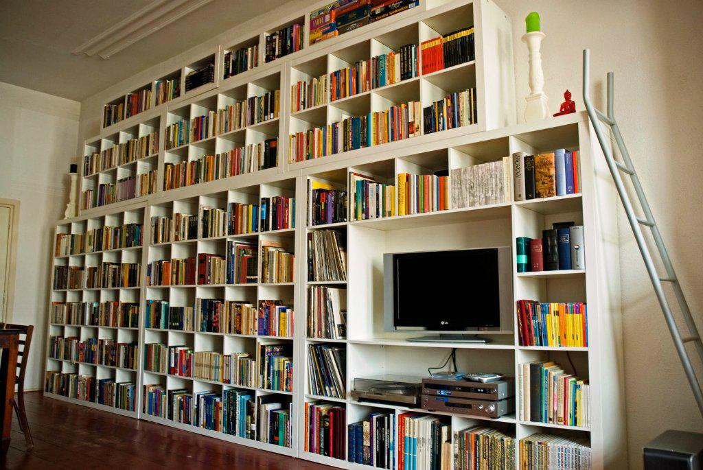 Image of: Wall Bookshelves IKEA