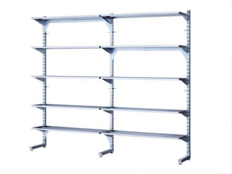 Wall Mounted IKEA Garage Storage Shelving Units