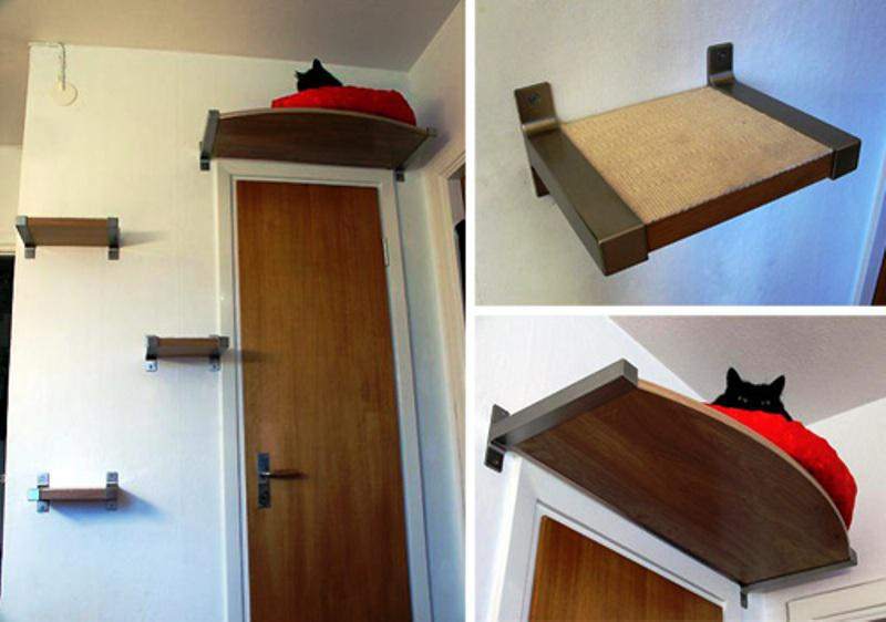 Wall Mounted IKEA Pet Furniture