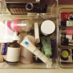 Acrylic IKEA Makeup Storage
