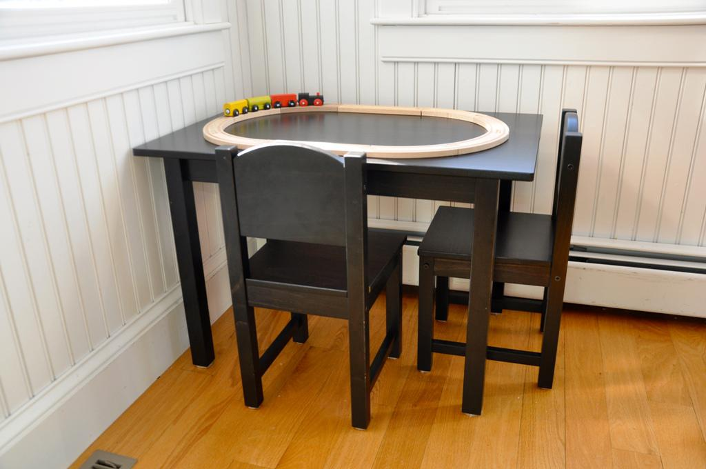 Image of: Childrens Play Table And Chairs IKEA