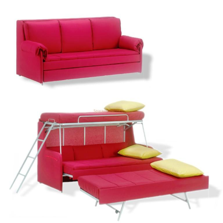 Image of: Couch Bunk Bed IKEA