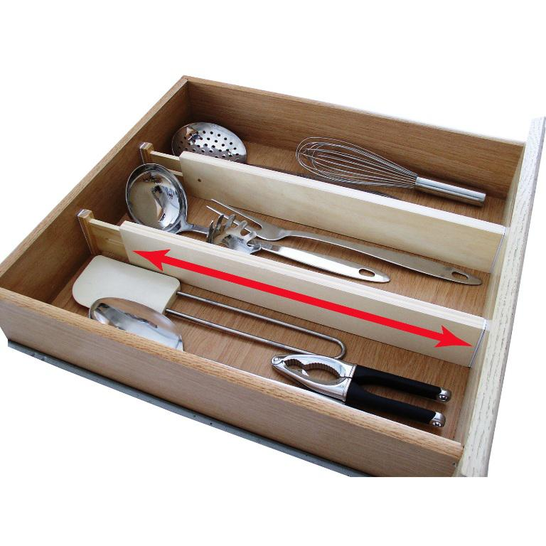 Expandable IKEA Drawer Organizer