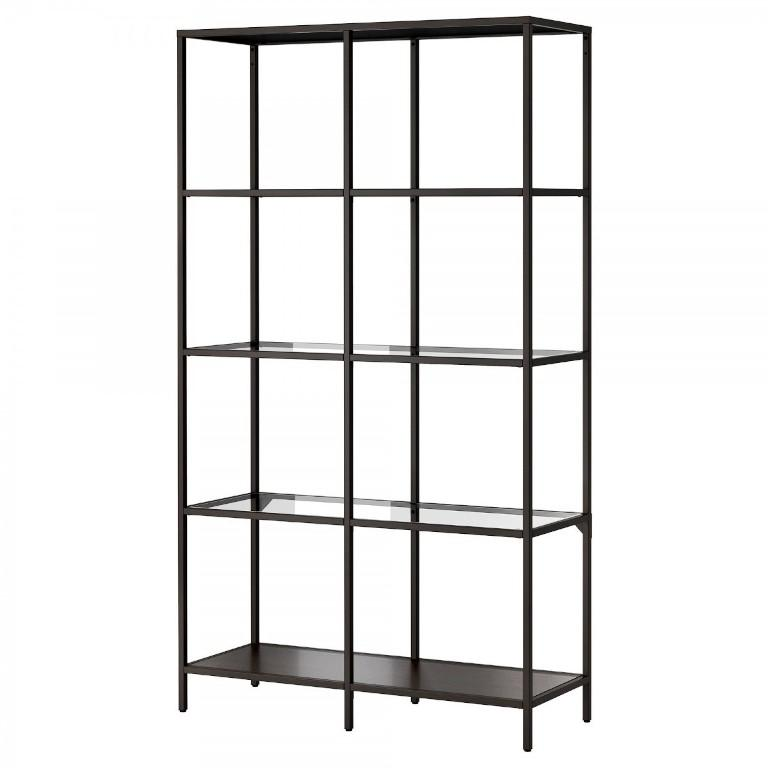IKEA Black Shelving Unit