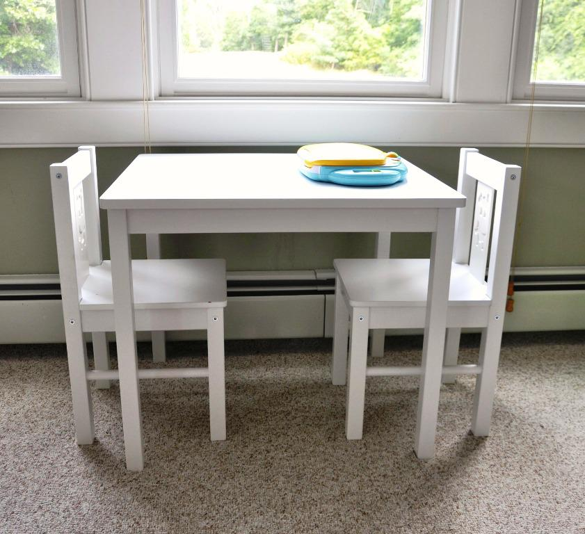 Image of: IKEA Childrens Table And Chairs