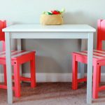 IKEA Childrens Wooden Table And Chairs