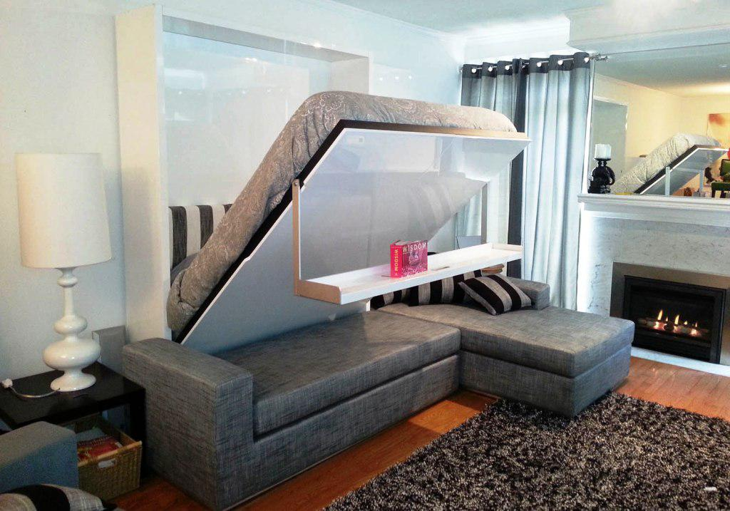 Image of: IKEA Couch Bed Storage