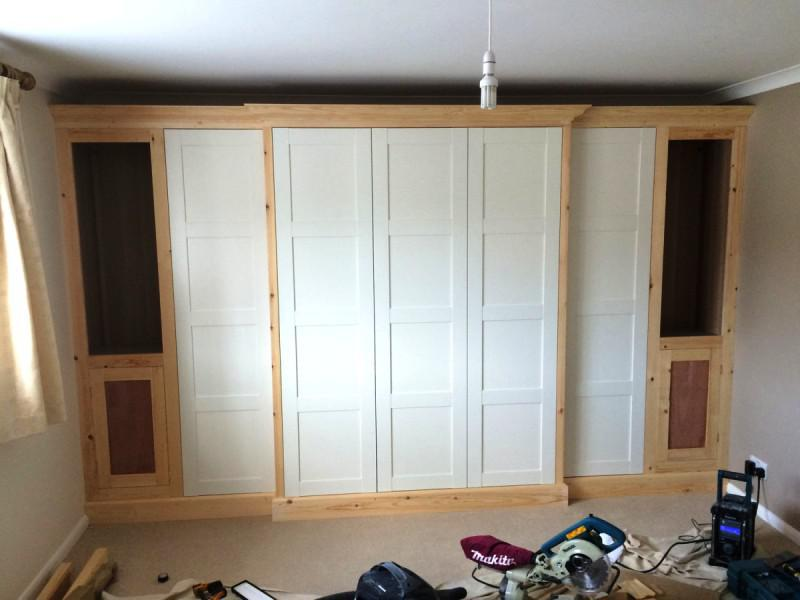 IKEA DOMBAS Wardrobe Bedroom Furniture