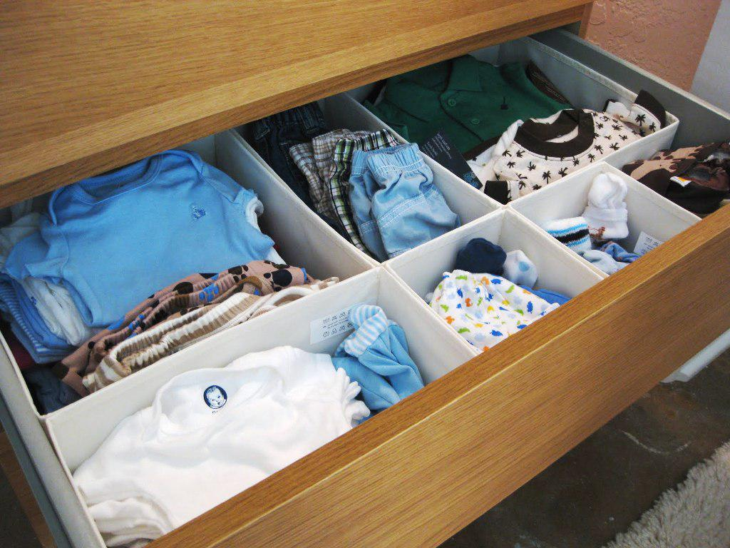 IKEA Drawer Organizer Changing Table