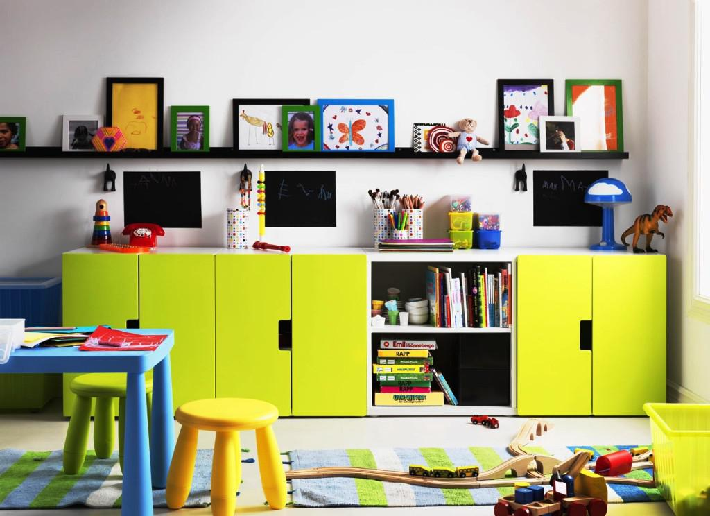 IKEA Kids Room Storage
