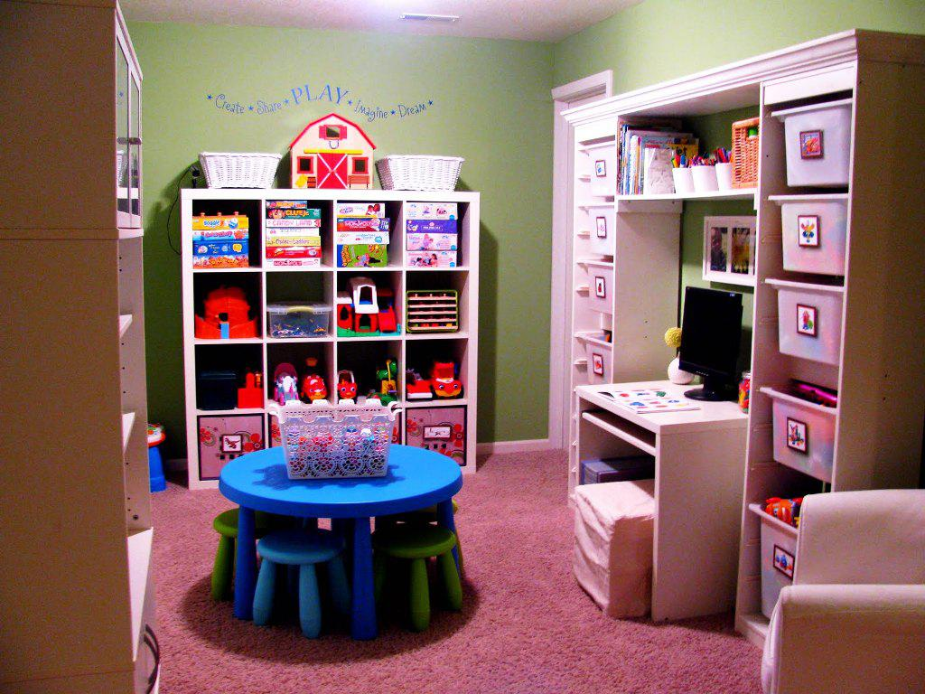IKEA Kids Toy Storage