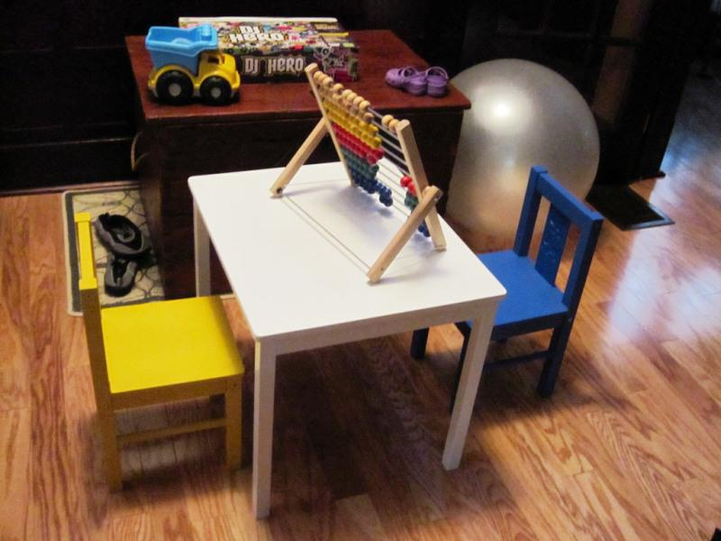 Image of: IKEA Kritter Table