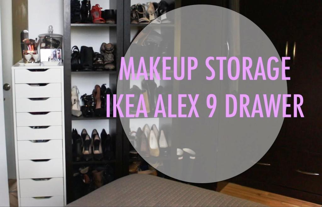 IKEA Makeup Storage Alex 9 Drawers