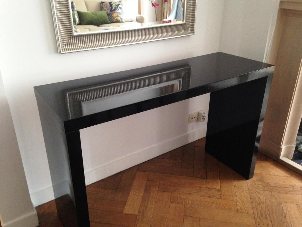 IKEA Malm Dressing Table Black