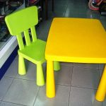 IKEA Mammut Table And Chairs