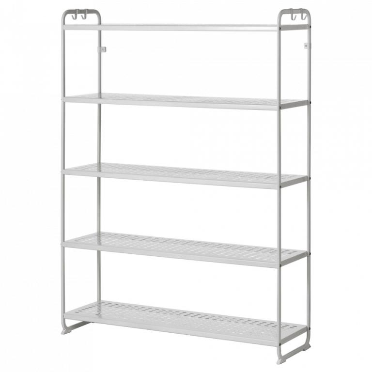 IKEA Metal Shelving Unit