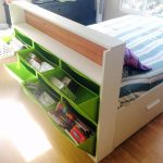 IKEA Trones Headboard Storage Hacks Ideas