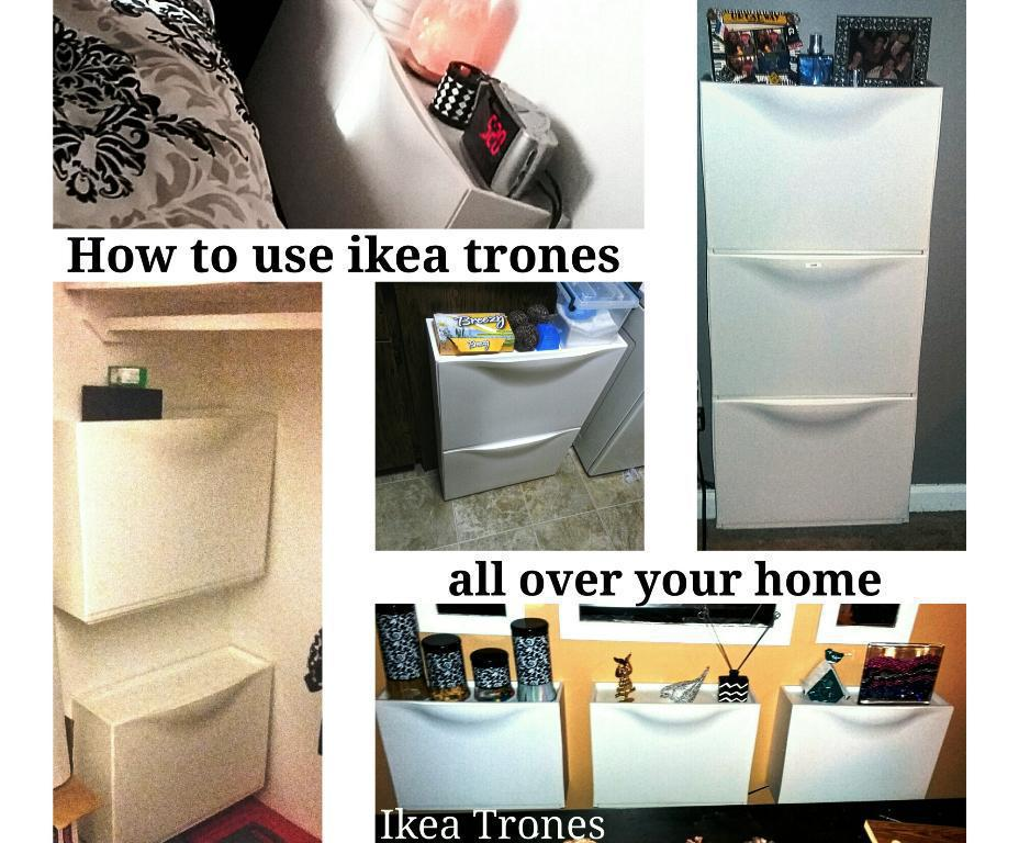 IKEA Trones With Handles Added