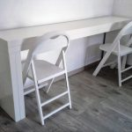 IKEA White Console Table