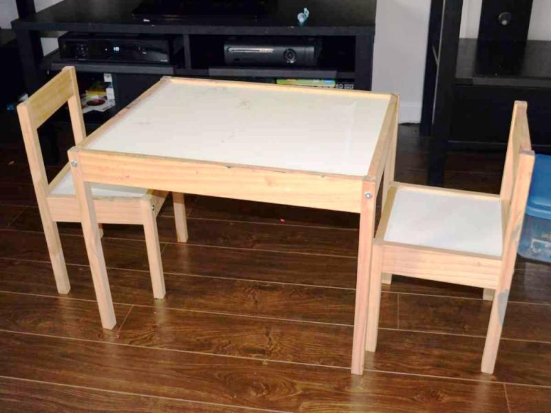 Image of: Kids Table And Chairs IKEA