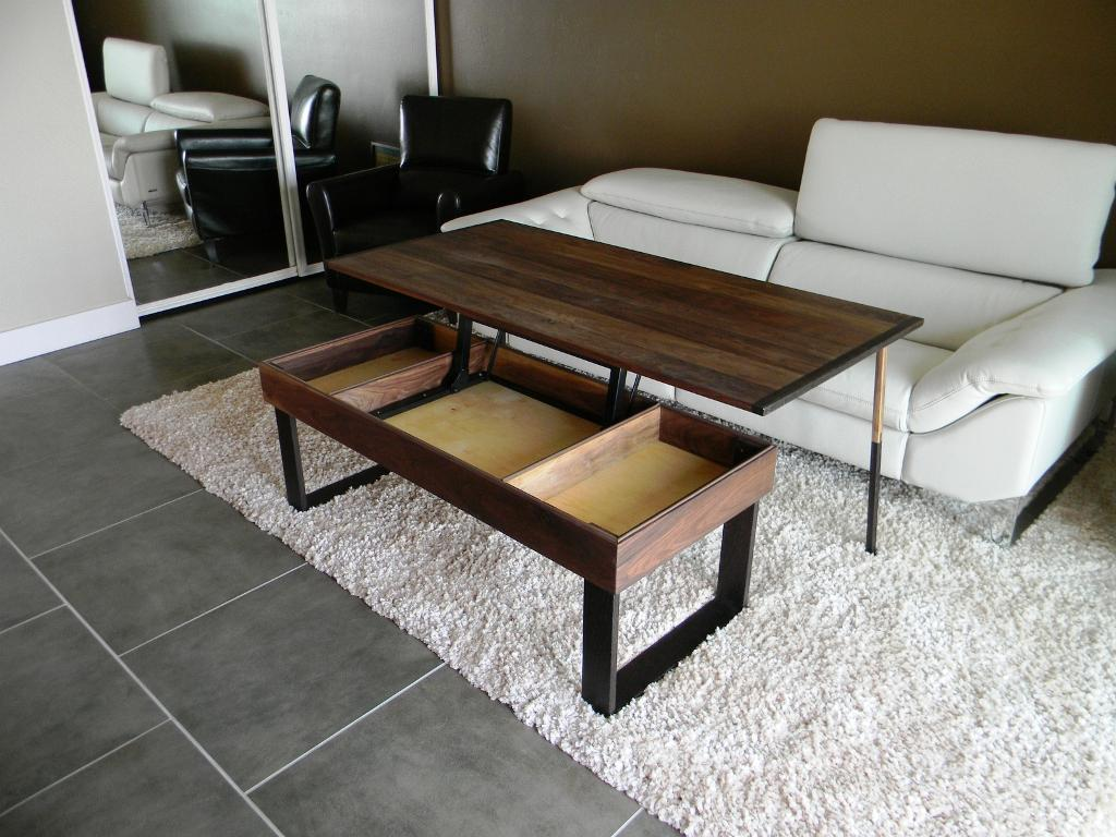 Lift Top Coffee Table IKEA Design