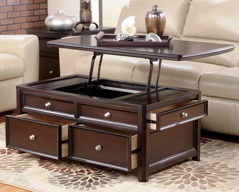 Lift Top Coffee Table IKEA With Storage