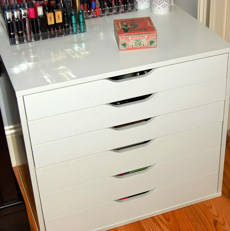 Makeup Storage Drawers IKEA