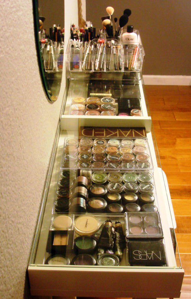 Makeup Storage Ideas IKEA