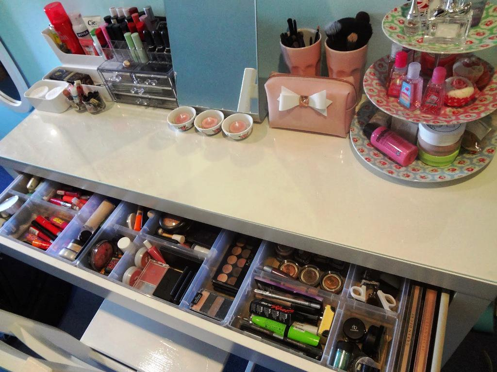 Best IKEA Makeup Storage Organization Ideas