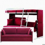 Multifunctional Design Bunk Bed Couch IKEA