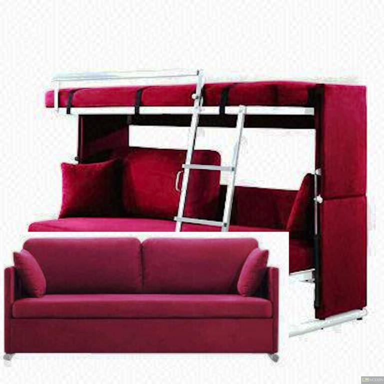 Image of: Multifunctional Design Bunk Bed Couch IKEA