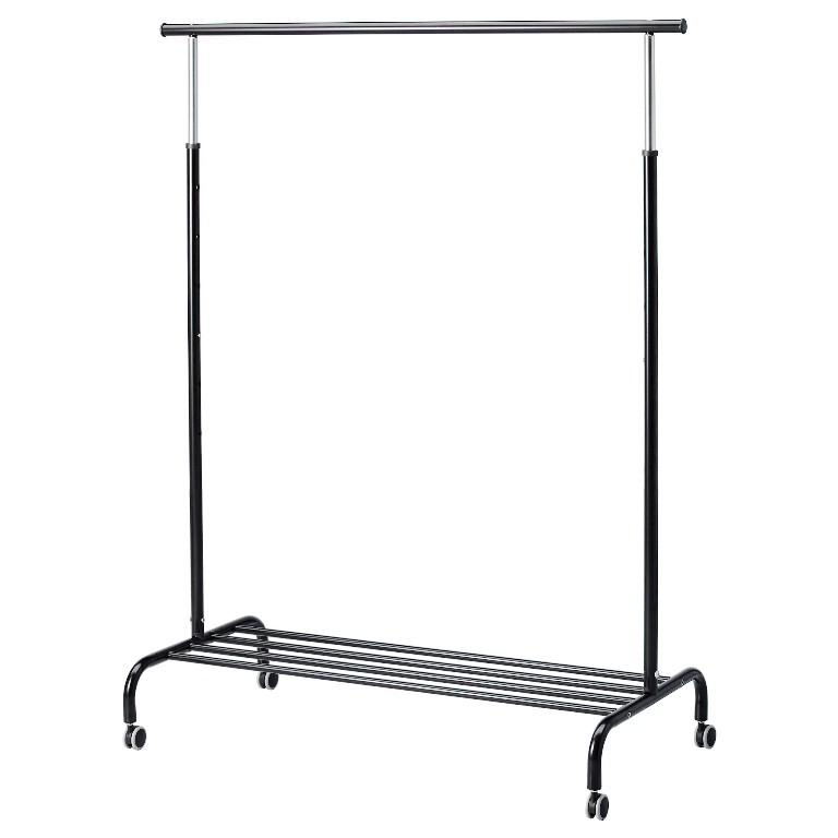 Rolling Clothes Rack IKEA
