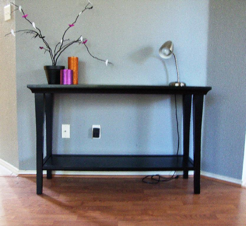 Best Console Table IKEA Designs