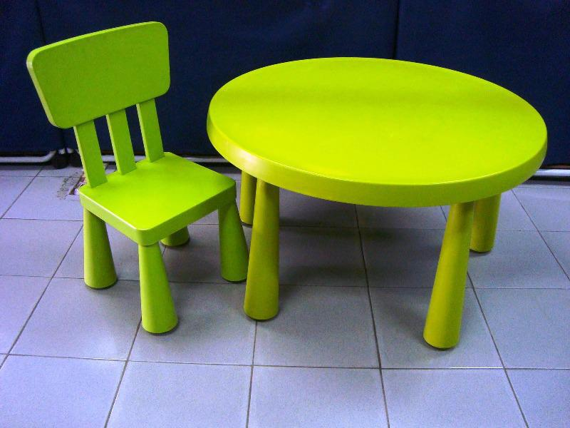 Image of: Toddler Table And Chairs IKEA
