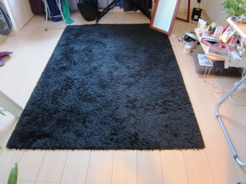 Black IKEA Area Rugs