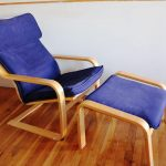 Chair And Ottoman IKEA POANG Armchair
