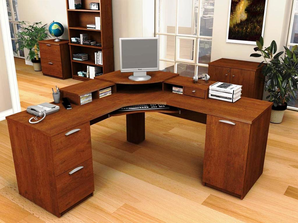Contemporary L Shaped Computer Desk IKEA
