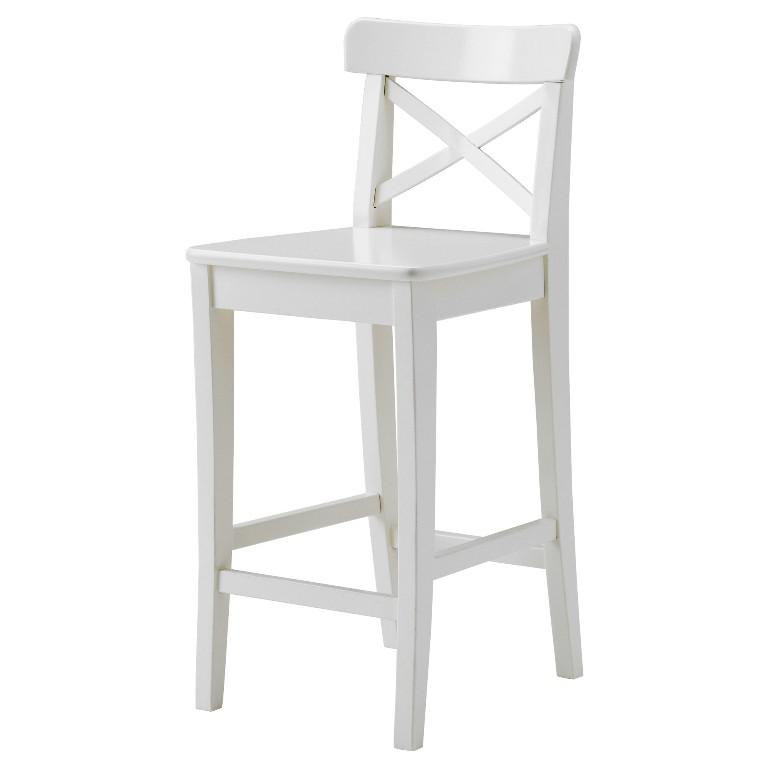 IKEA Bar Stools White