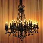 IKEA Black Chandelier