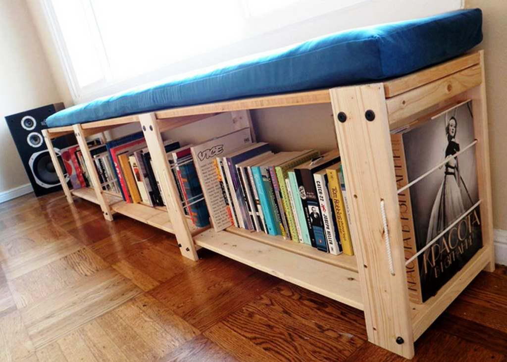 IKEA Bookshelf Bench