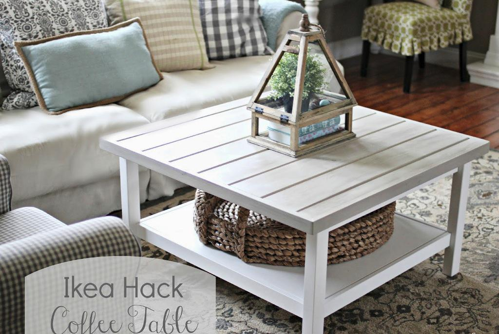 Image of: IKEA Coffee Table Hack