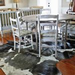 IKEA Cowhide Rug Dining Room Area Rugs