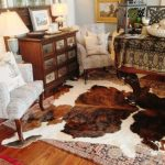 IKEA Cowhide Rug Room Decor Ideas