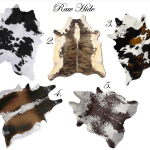 IKEA Cowhide Rug Skin Patterns