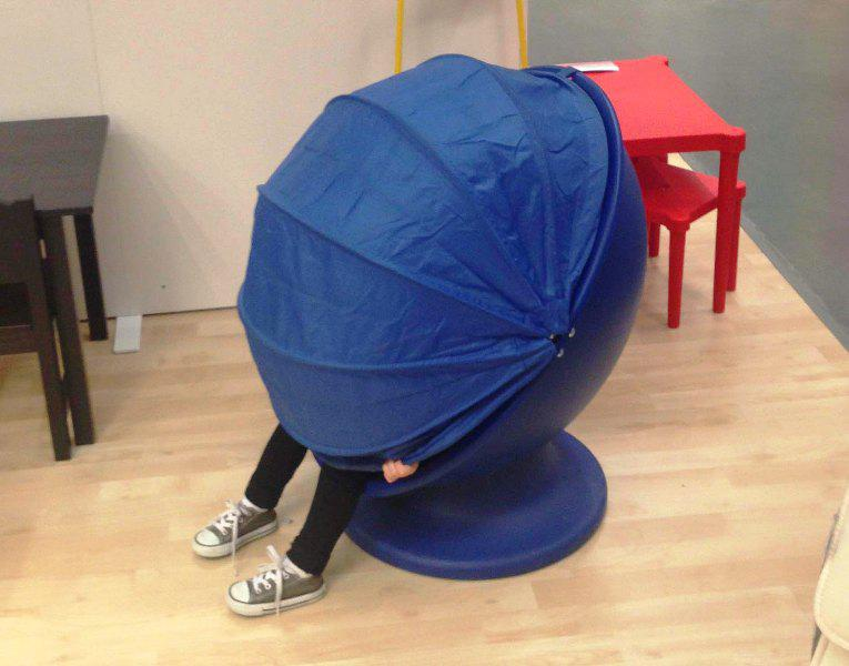 Image of: IKEA Egg Chair Replacement Hood